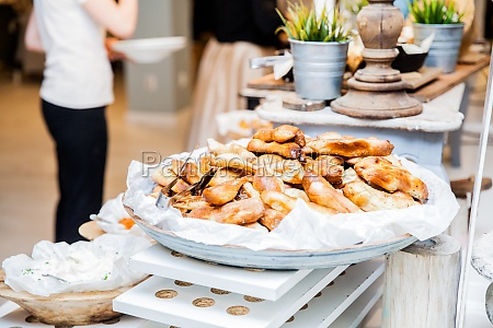 tasty, pastry, served, restaurant, event, buffet - 29804196