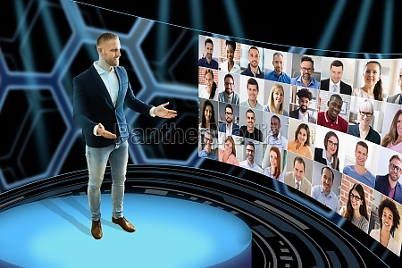 virtual, event, conference, or, convention - 29811759