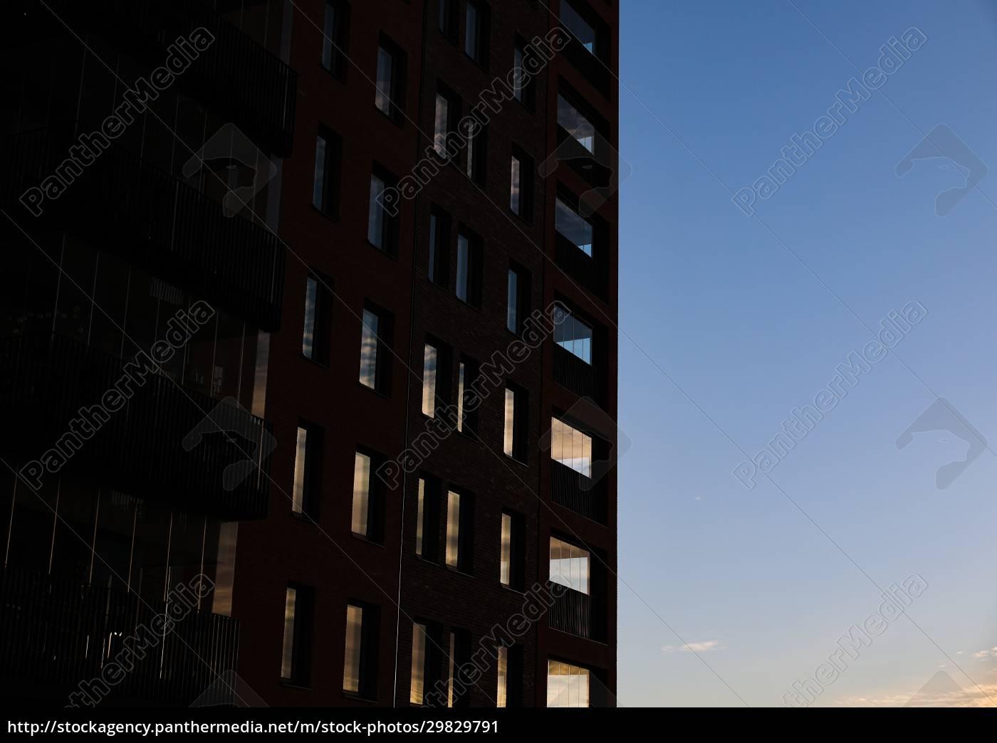 reflexão, do, pôr, do, sol - 29829791
