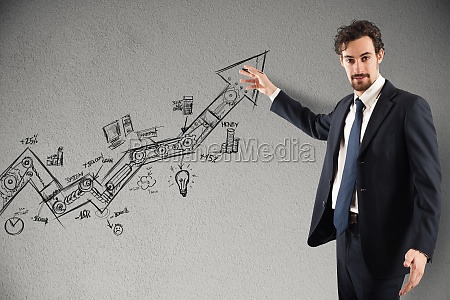 estatisticas de negocios em alta