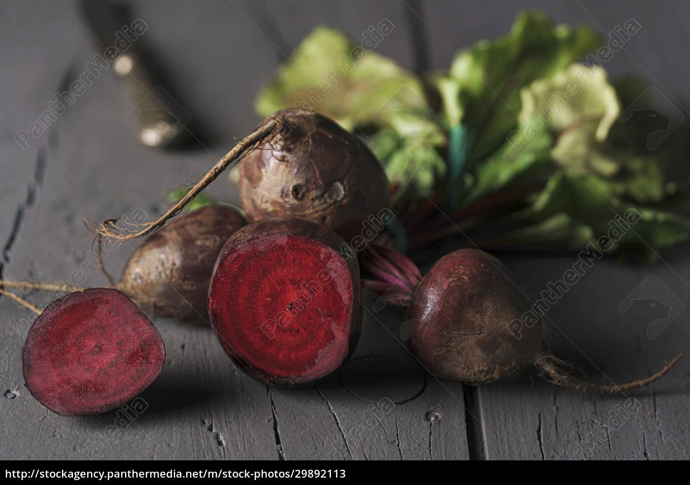 red, sugar, beetroots, on, stem, with - 29892113