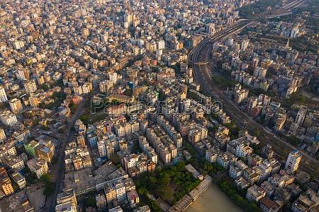 vista, aérea, de, uma, grande, estrada - 30148706