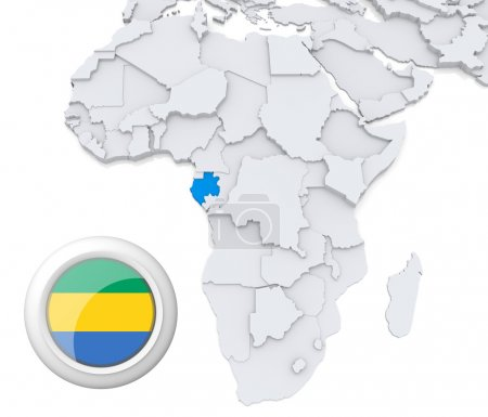 Contexto, bandeira, mapa, África, Argélia, Egipto - B28736201