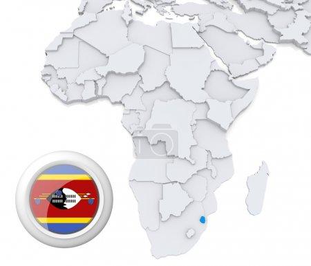 Contexto, bandeira, mapa, África, Argélia, Egipto - B28739841