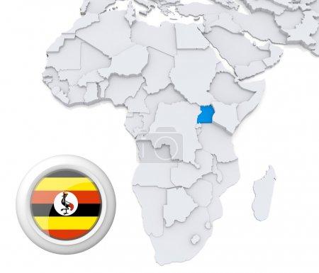 Contexto, bandeira, mapa, África, Argélia, Egipto - B28740359