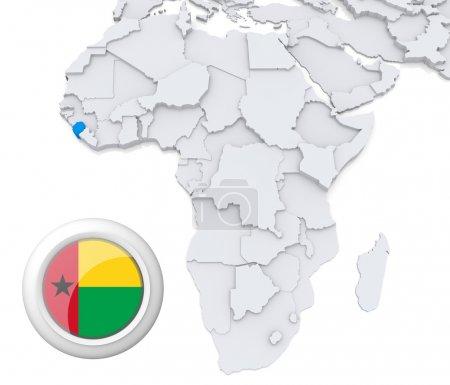 Contexto, bandeira, mapa, África, Argélia, Egipto - B28737871