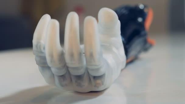 artificial poder tecnologia mao moderna futurista