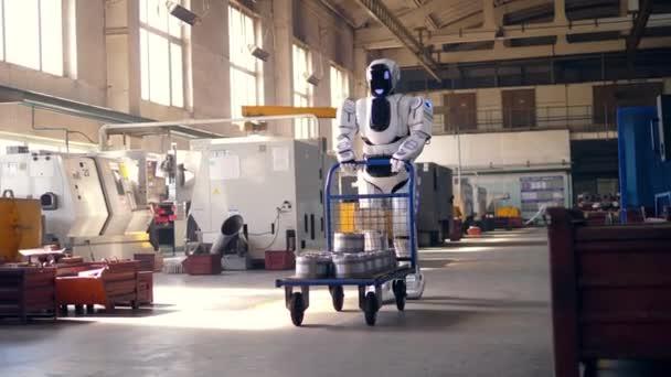 branco computador artificial negocios carrinho metal